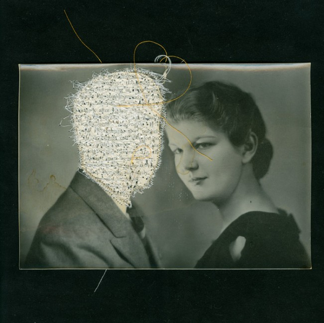 Liz Steketee  Grandmother & Grandfather Powers Mixed Media