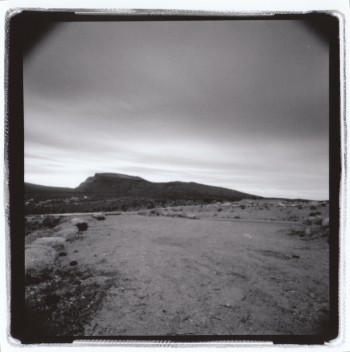 Holga image of Red Rock National Park, near the site of the 2016 SPE National Conference. Photo by Andrew Thompson