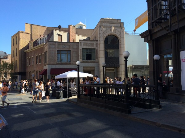 Paramount Pictures New York Back Lot